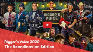 The North is heard at Rigger's Voice 2020