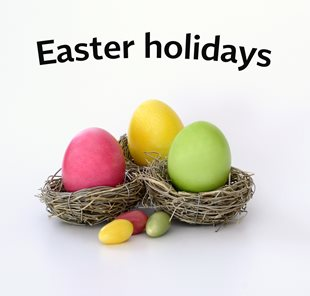 Xstage offices closed for the Easter holidays